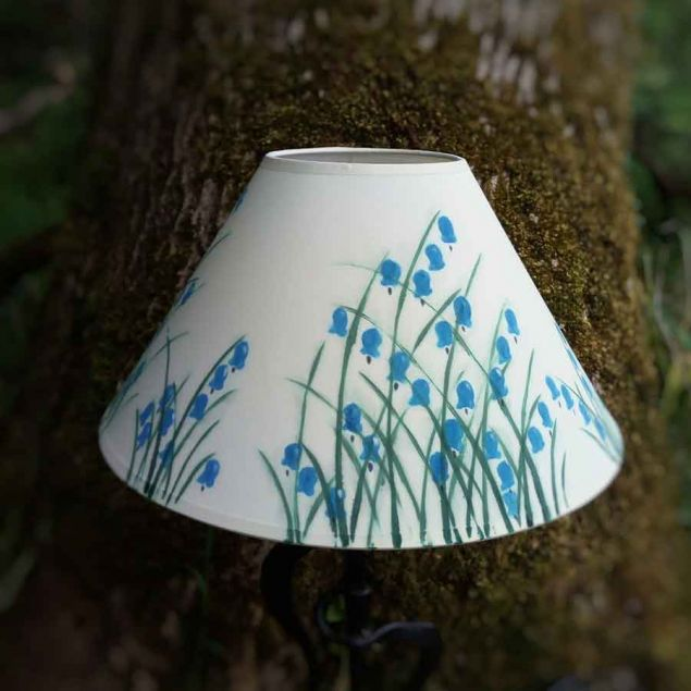 Bluebell Hand Painted Lamp Shade