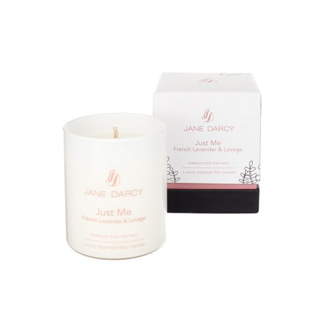 French Lavender and Lovage Natural Soy Wax Candle