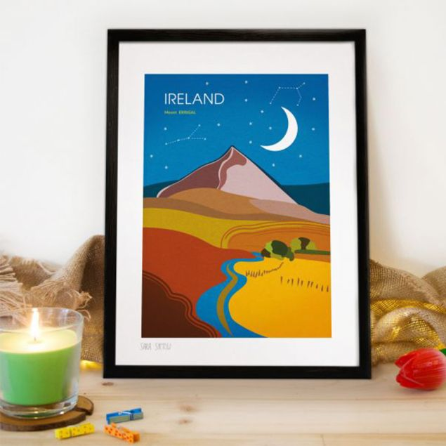 Mount Errigal in Donegal A4 Signed Print
