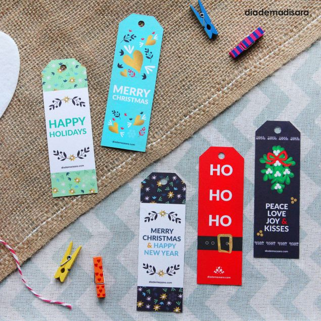 Christmas Tags  Pack of 5
