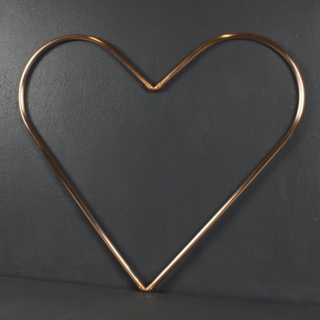 Recycled Copper Love Heart