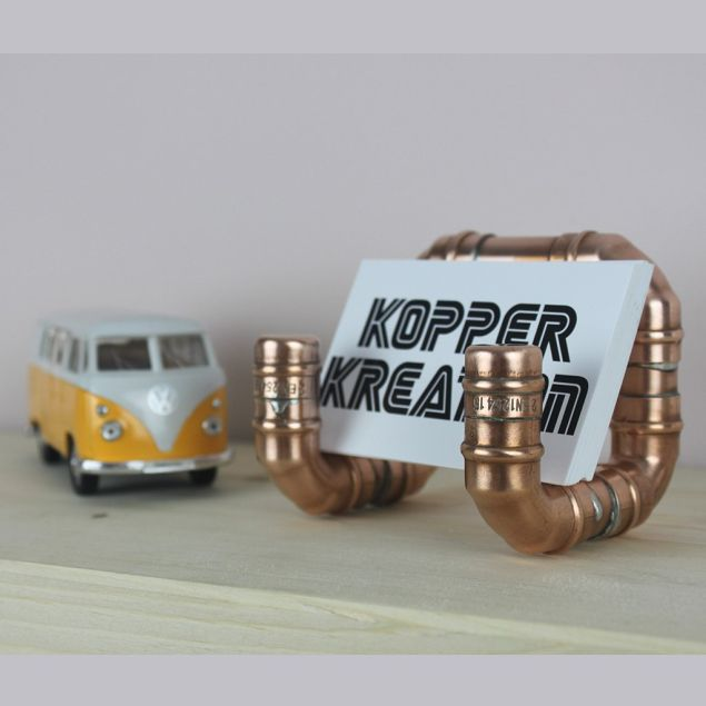 Recycled Irish Copper Business Card Holder
