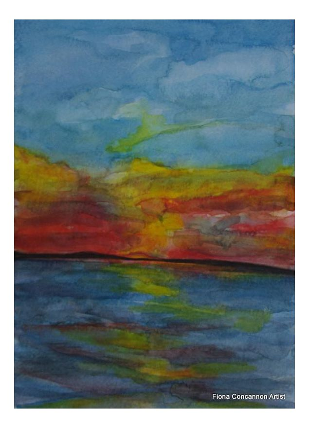Galway Bay Sunset Limited Edition Print