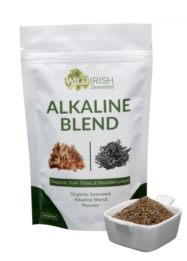 Selection of Healthy Irish Seaweed Smoothie Blends