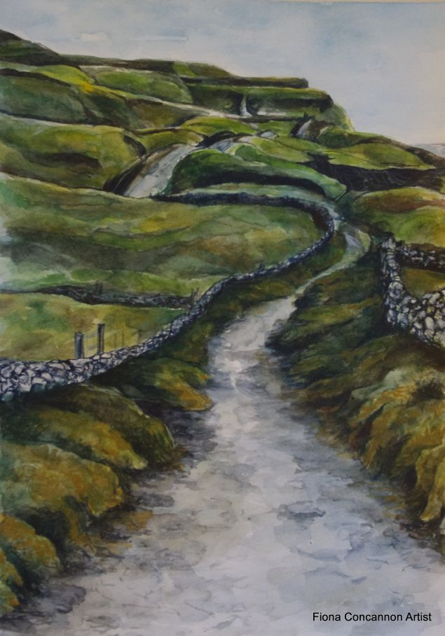 Doolin to the Cliffs of Moher Limited Edition Print